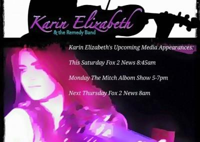 Karin Elizabeth & The Remedy Band – June 20, 2016