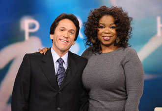 with Oprah