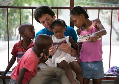at the Have Faith Haiti Mission (credit: ROMAIN BLANQUART)
