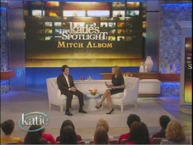 on Katie Couric's show