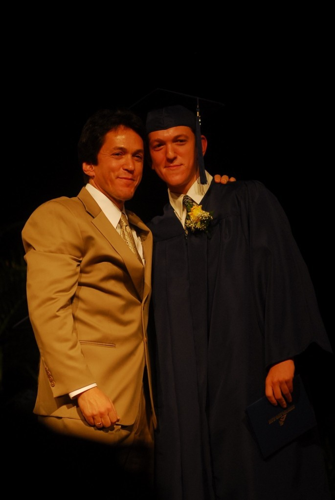 with his nephew Jesse