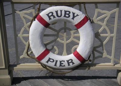 Ruby Pier on Set