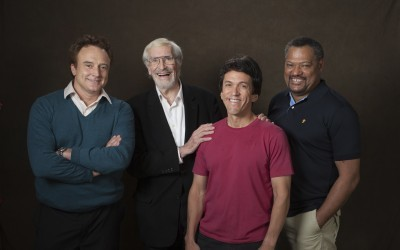 Brad Whitford, Martin Landau, Mitch Albom, and Laurence Fishburne