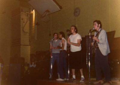 HS gym concert in 1973