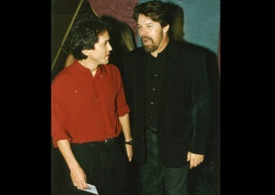 Mitch with Bob Seger