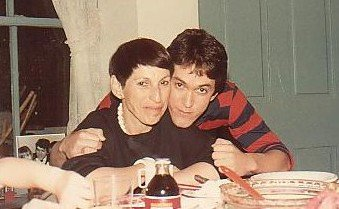 Mitch and his mom, Rhoda