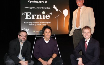 Tony Casselli (Director), Albom, Will Young (Original Ernie), TJ Corbett