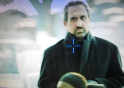 Marc Rosenthal as a Rabbi
