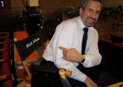 Marc Rosenthal ('Rosey') steals Mitch's chair