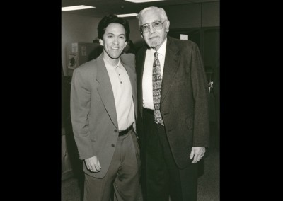 Rabbi Lewis and Mitch