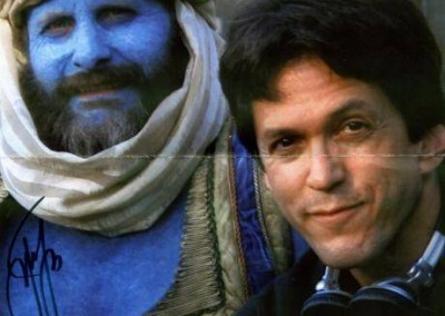 Jeff Daniels as the Blue Man
