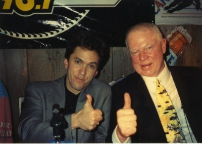 with Hockey broadcast legend Don Cherry