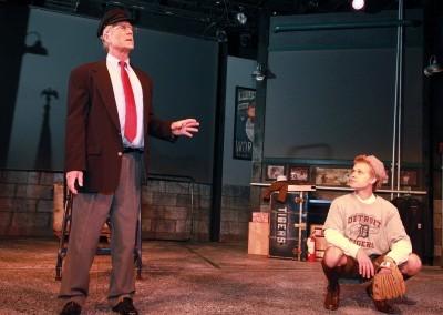 Peter Carey(Ernie) and TJ Corbett