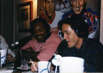 with Tigers slugger Cecil Fielder