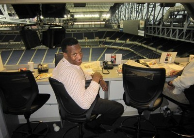 Ken Brown as a sportswriter