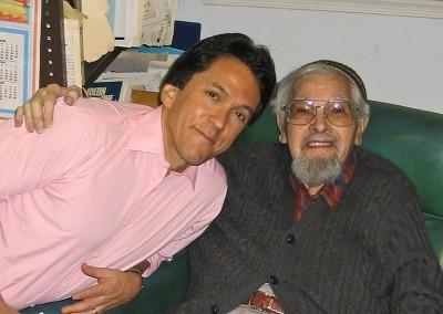 Mitch and Rabbi Lewis