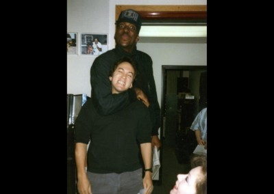 with Detroit Piston John Salley