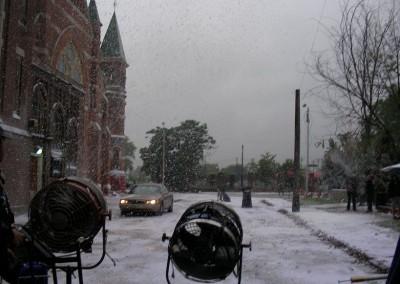 """""""Snow"""" in Detroit in July"""