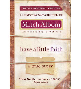 Have A Little Faith 187 Mitch Albom