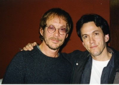 With Warren Zevon in 1999