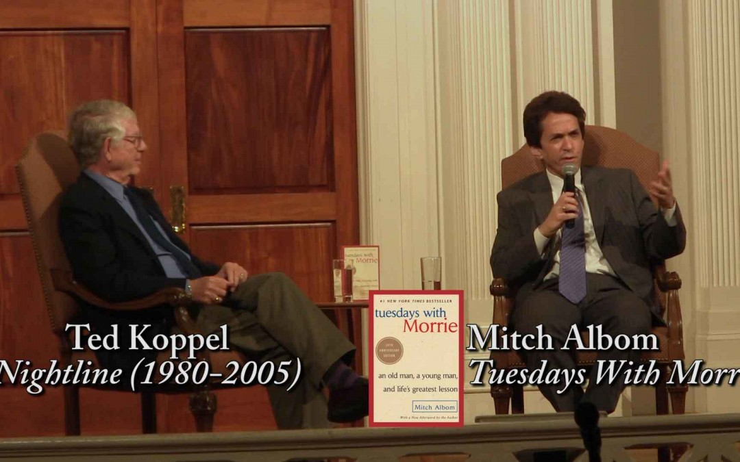Mitch and Koppel Share Memories of Morrie