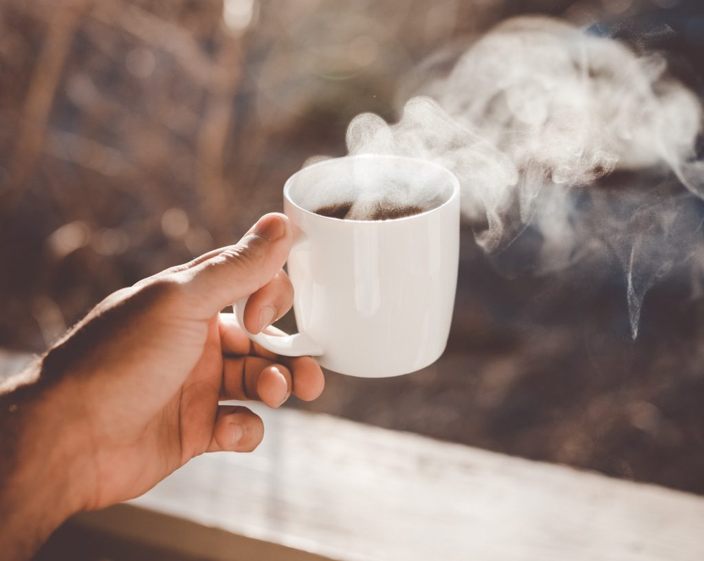 I broke up with coffee  Cool beans no more  » Mitch Albom