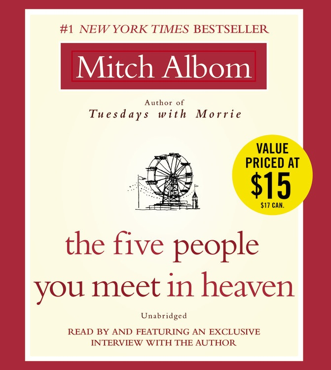 five people audiobook cover