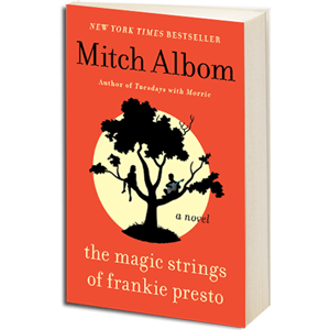 magic strings of frankie presto book cover