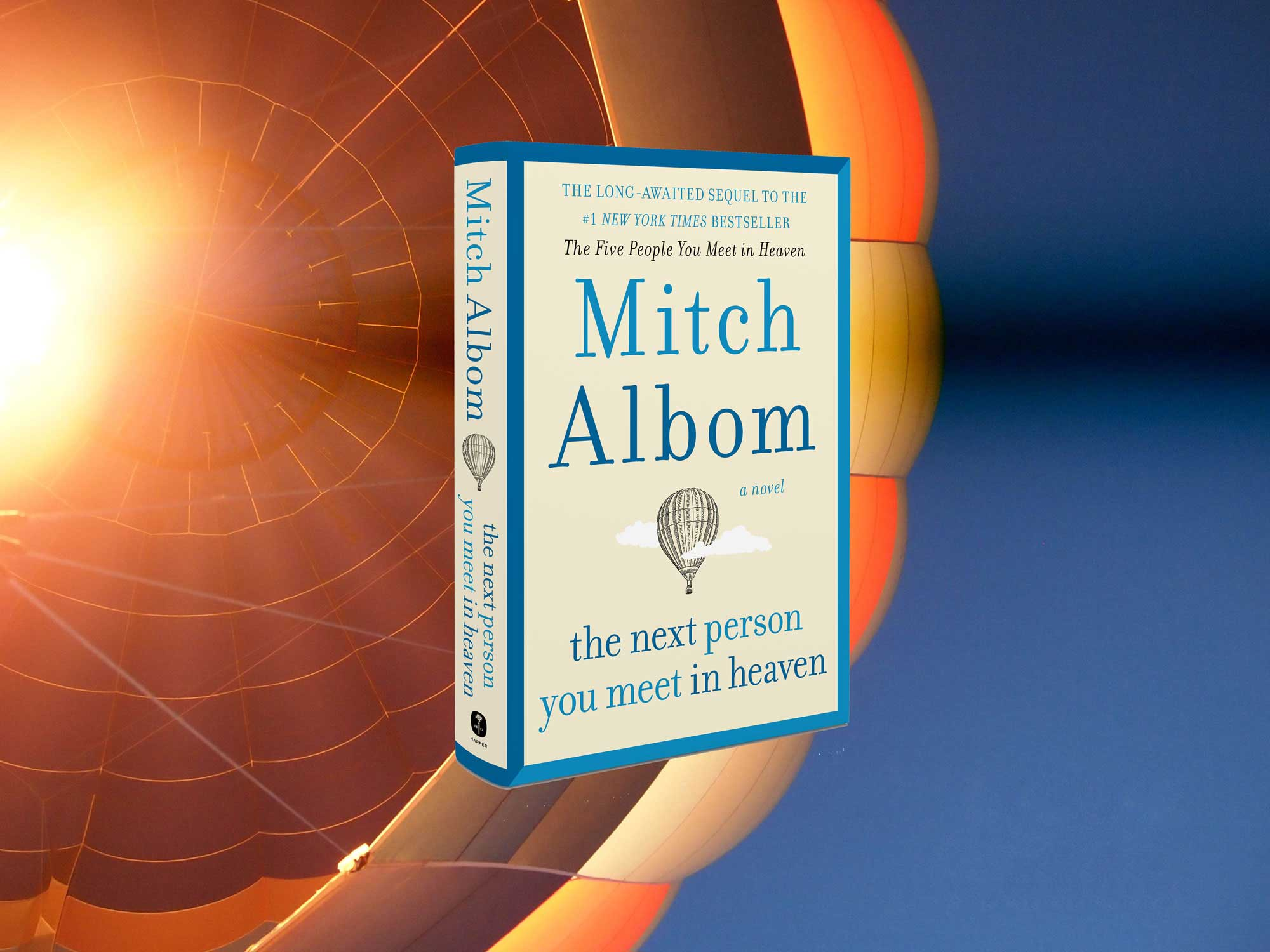 the next person you meet in heaven mitch albom
