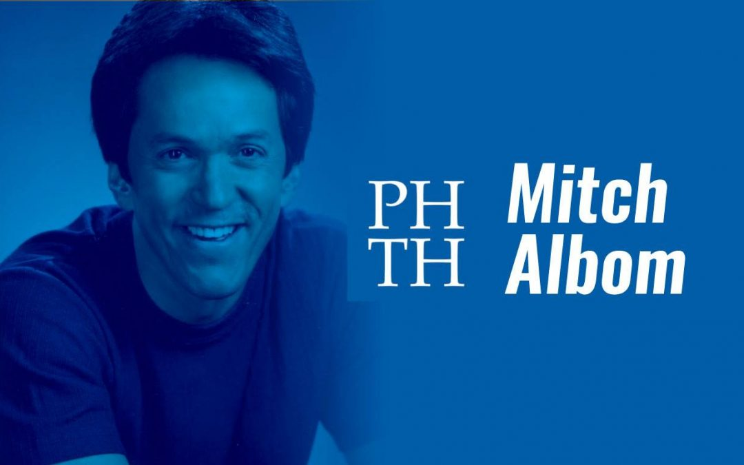 An Evening with Mitch Albom – Port Huron Town Hall