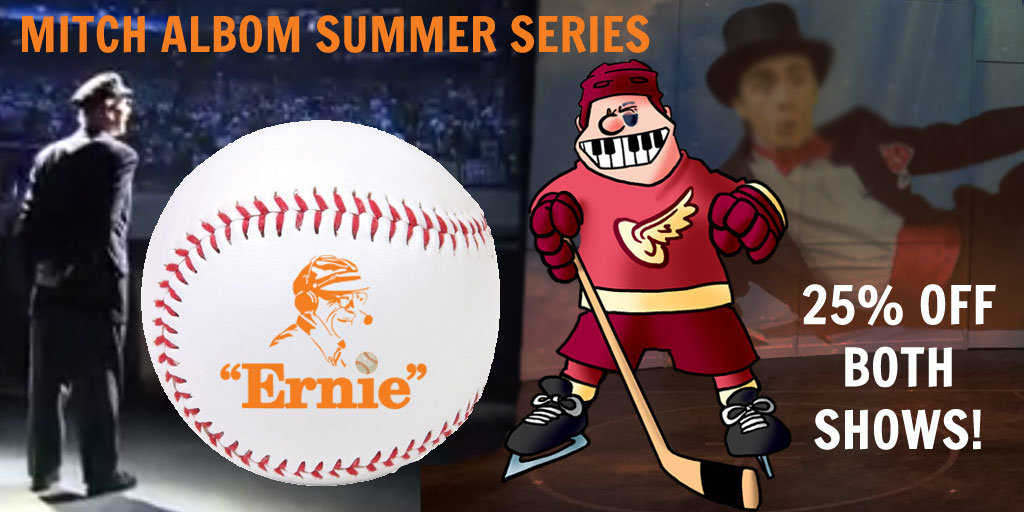 Ernie and Hockey are Back for a Summer Series