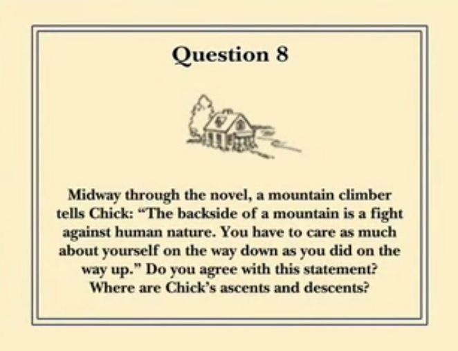 For One More Day Reading Group Guide Question 8