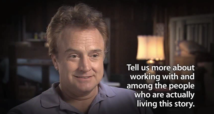 Interview with Bradley Whitford, starring in