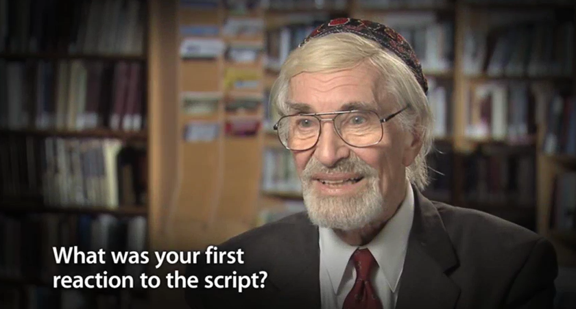 Interview with Martin Landau, starring in
