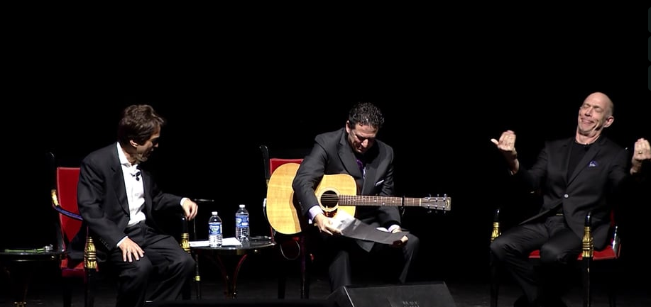 JK Simmons and John Pizzarelli