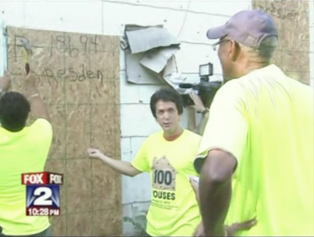 100 Houses Project 1.0 - Fox 2 News Report