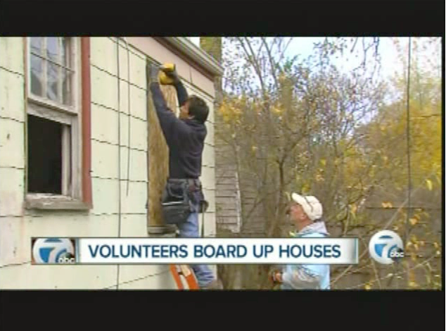 100 Houses Project 2.0- WXYZ News Report 11pm