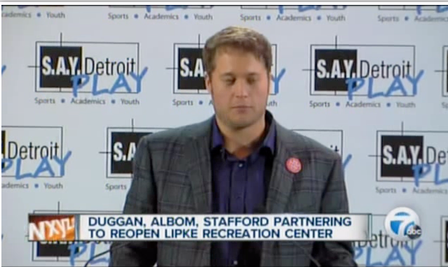 SAY Detroit Play Center Press Conference - WXYZ