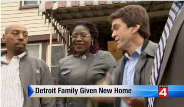 WDIV: The Burrell Family Gets a Home