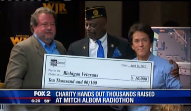 FOX 2: SAY Detroit Radiothon Funds Distributed