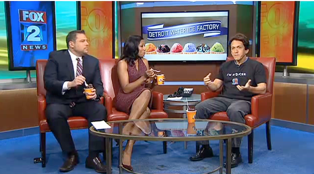 MyFox2 - Mitch Introduces Detroit Water Ice new