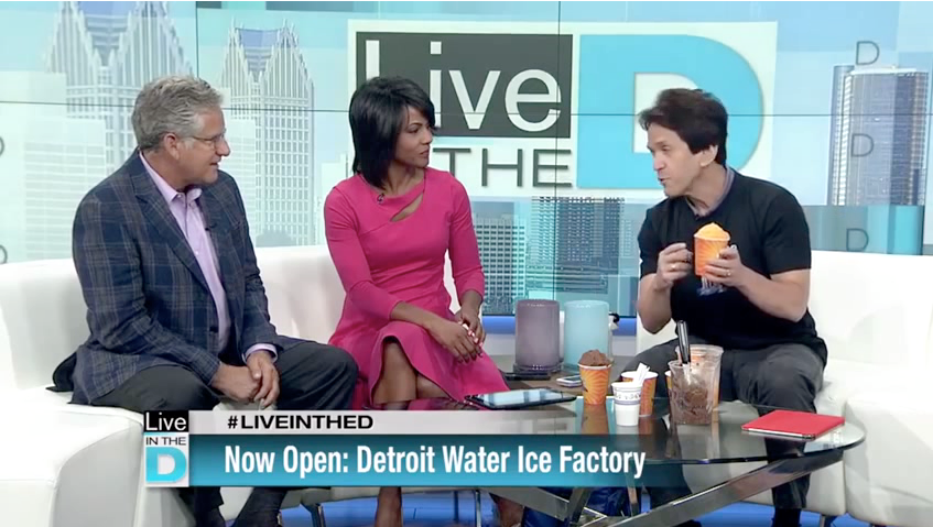 Live in the D - Detroit Water Ice Factory new