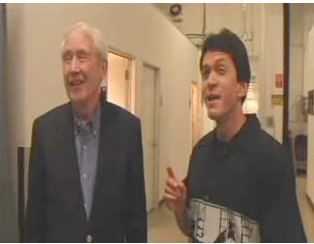 Mitch Albom and Frank McCourt Interview