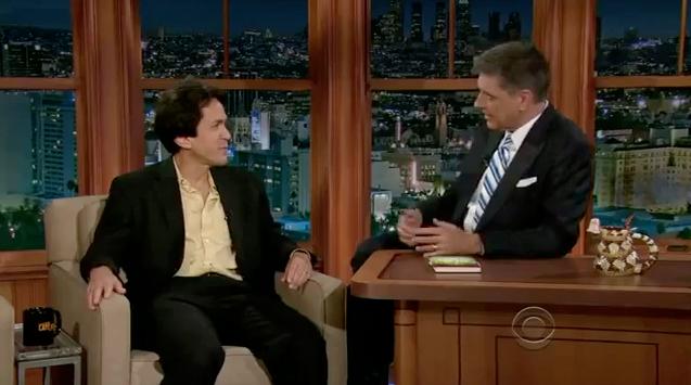 Late Late Show with Craig Ferguson - 2012