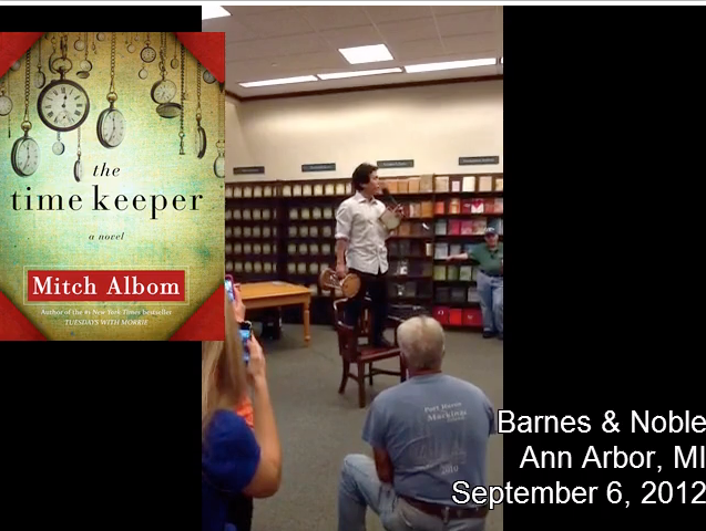 Live from Barnes & Noble Signing The Time Keeper