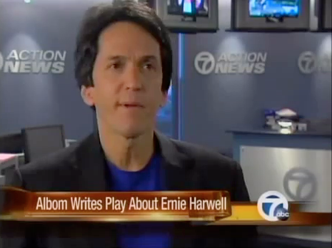 Mitch Albom Writes'Ernie' Play