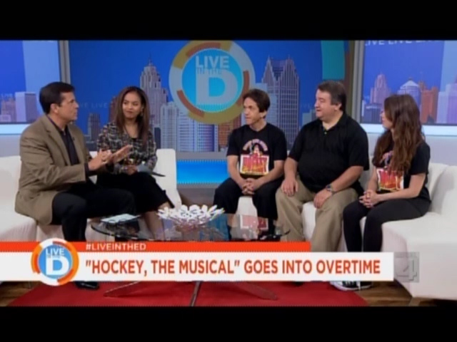 Live in the D: Hockey, The Musical Extended for 3 Weeks!