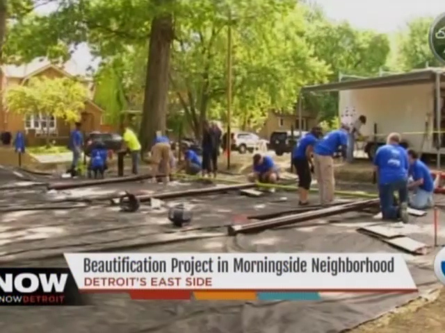 Channel 7 News: Beautification Project in Morningside Neighborhood