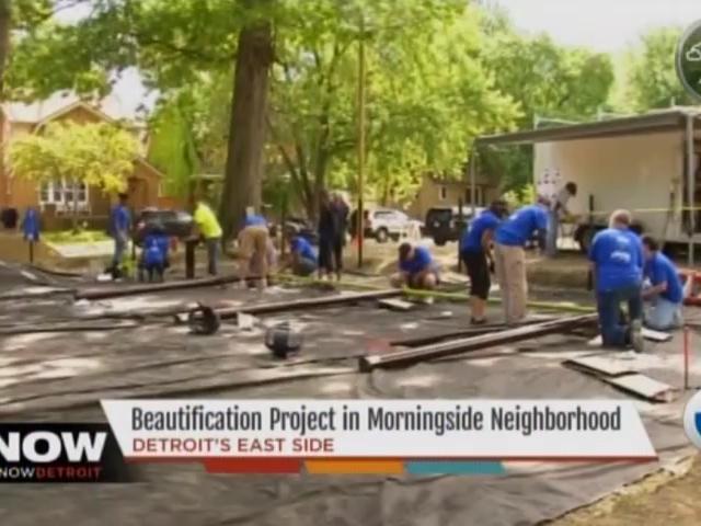 Channel 7 News: Beautification Project in Morningside Neighborhood