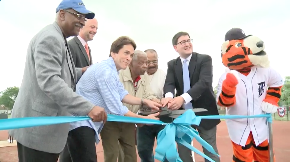 Tigers TV: S.A.Y. Play Baseball Field Dedication